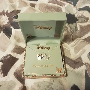 Disney Minnie and Mickey Necklace